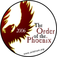 The Order of The Phoenix Campaign 2006 Button
