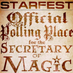 Polling Precinct Poster for Starfest