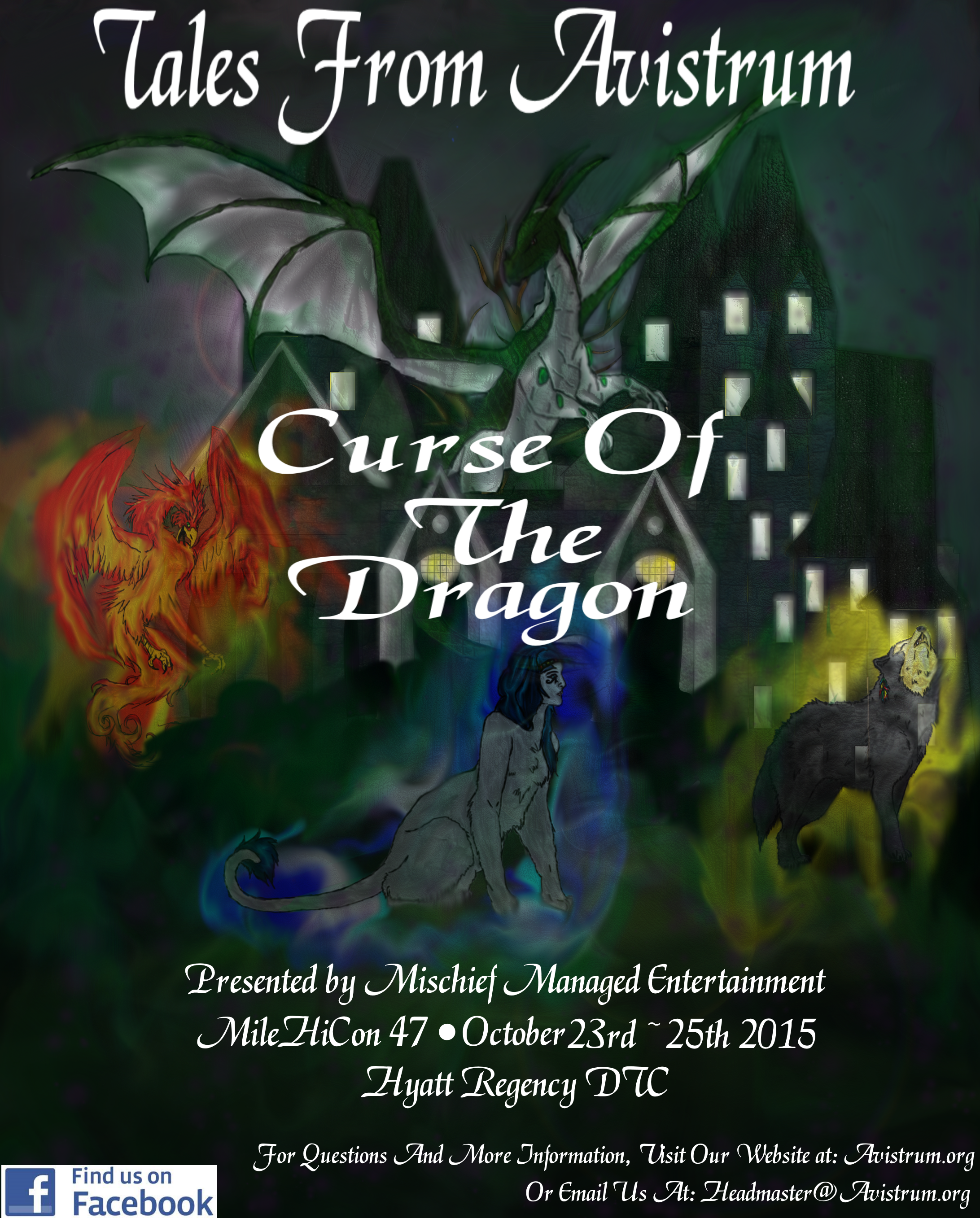 TFA: Curse of the Dragon Poster